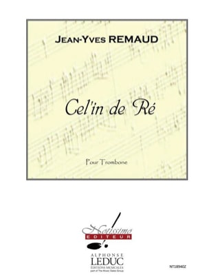 Jean-Yves Remaud - Cel'In De Re - Sheet Music - di-arezzo.com