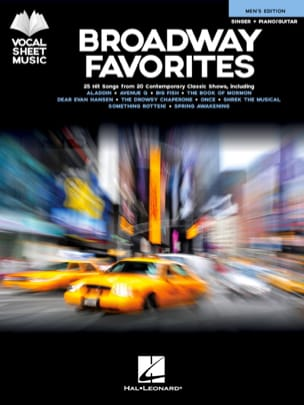 - Broadway Favorites - Men's Edition - Sheet Music - di-arezzo.co.uk
