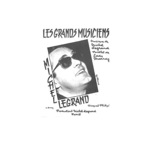 Les Grands Musiciens Michel Legrand Partition laflutedepan
