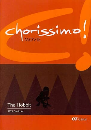 - Chorissimo! - The Hobbit, Music of the film for Chorus - Sheet Music - di-arezzo.com