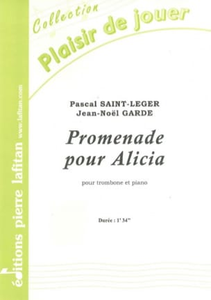 Pascal Saint-Leger & Jean-Noël Garde - Walk for Alicia - Sheet Music - di-arezzo.com