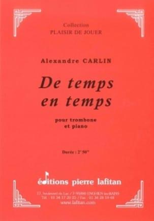 Alexandre Carlin - Sometimes - Sheet Music - di-arezzo.com