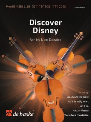 DISNEY - Descubre Disney - Tanga Flexible Trios - Partitura - di-arezzo.es