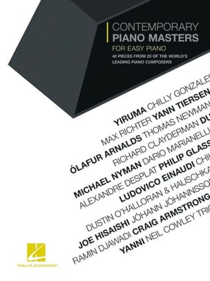 Contemporary Piano Masters for Easy Piano Partition laflutedepan