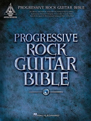 Progressive Rock Guitar Bible - Partition - laflutedepan.com
