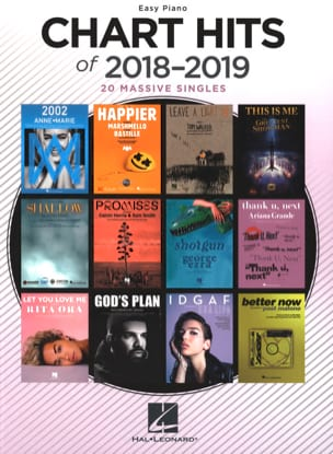 - Chart Hits Of 2018-2019 - Easy Piano - Sheet Music - di-arezzo.co.uk