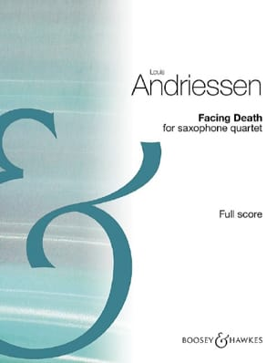 Louis Andriessen - Facing Death - Driver - Sheet Music - di-arezzo.com