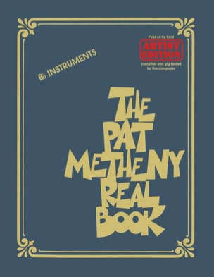 Pat Metheny - The Pat Metheny Real Book - In Bb - Sheet Music - di-arezzo.com