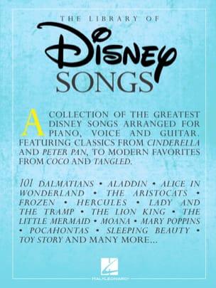DISNEY - Die Bibliothek der Disney-Lieder - Noten - di-arezzo.de