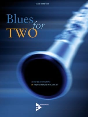 Blues For Two Claus Henry Koch Partition Clarinette - laflutedepan