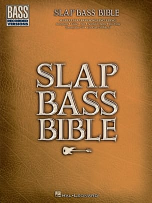 Slap Bass Bible Partition Contrebasse - laflutedepan