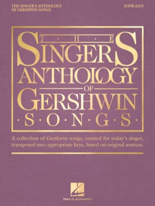 George Gershwin - The Singer's Anthology of Gershwin Songs - Soprano - Sheet Music - di-arezzo.co.uk