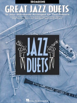 Great Jazz Duets Partition Trombone - laflutedepan