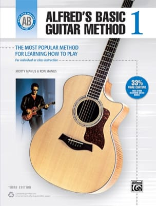 Alfred's Basic Guitar Method Volume 1 - laflutedepan.com