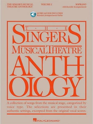 The Singer's Musical Theatre Anthology Volume 1 - Soprano, Version avec audio - laflutedepan.com