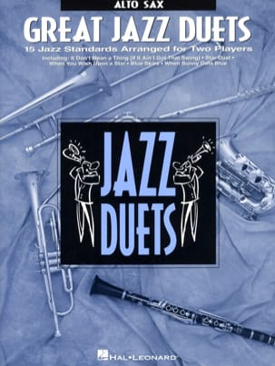 Great Jazz Duets Partition Saxophone - laflutedepan