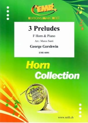 3 Preludes GERSHWIN Partition Cor - laflutedepan