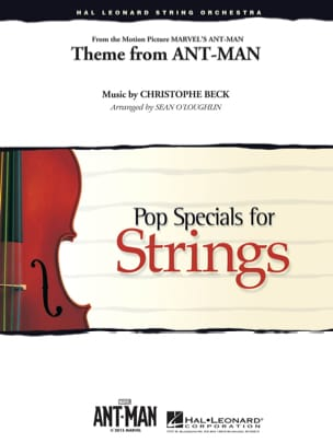 Theme from Ant-Man - Pop specials for strings - laflutedepan.com