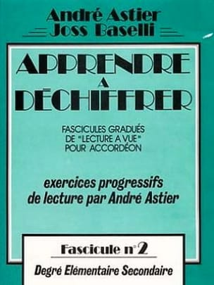 Astier André / Baselli Joss - Learn To Decipher Volume 2 - Sheet Music - di-arezzo.com