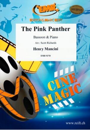 The Pink Panther MANCINI Partition Basson - laflutedepan