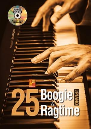 25 boogie & ragtime au Piano Frédéric Dautigny Partition laflutedepan