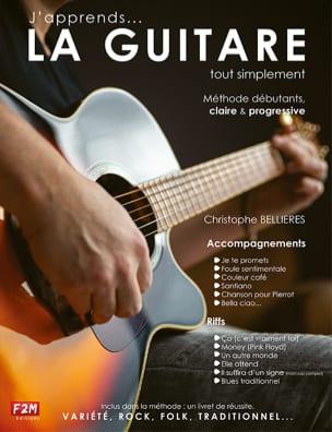 Christophe Bellieres - 私はギターを学んでいます...ただ - 楽譜 - di-arezzo.jp