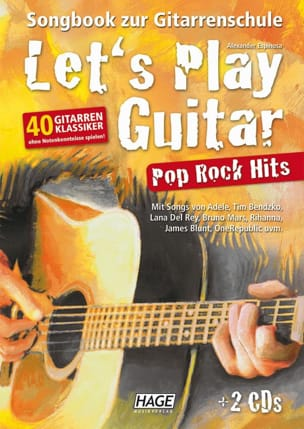 - Let's Play Guitar - Pop Rock Hits - Partition - di-arezzo.fr