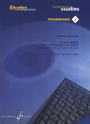 Jérôme Naulais - Varied studies on flexibility and legato volume 1 - 26 Etudes - Sheet Music - di-arezzo.co.uk