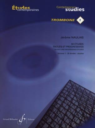 Jérôme Naulais - 50 Easy and Progressive Studies Volume 1 - Sheet Music - di-arezzo.co.uk