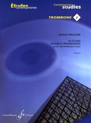 Jérôme Naulais - 2-50 Easy and progressive studies volume 2 - Sheet Music - di-arezzo.co.uk