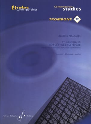 Jérôme Naulais - 10 - Varied studies on style and phrasing volume 2 - 21 Etudes - Sheet Music - di-arezzo.co.uk
