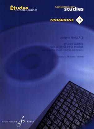 Jérôme Naulais - Varied studies on style and phrasing volume 3 - 16 Etudes - Sheet Music - di-arezzo.co.uk