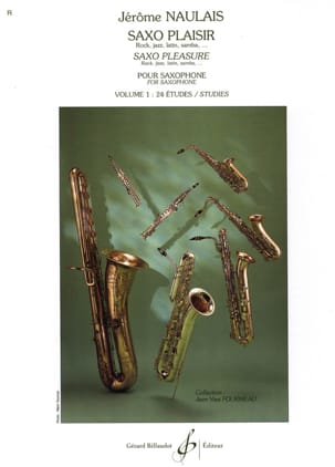 Jérôme Naulais - Saxo Pleasure Volume 1 - Sheet Music - di-arezzo.com