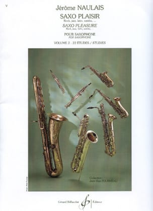 Jérôme Naulais - Saxo Pleasure Volume 2 - Sheet Music - di-arezzo.com