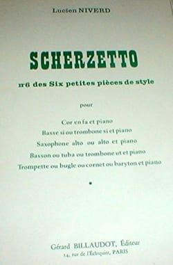 Scherzetto N° 6 Des Six Petites Pièces de Style - laflutedepan.com