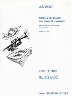 Alexandre Petit - Gouttes D'eau - Partition - di-arezzo.fr