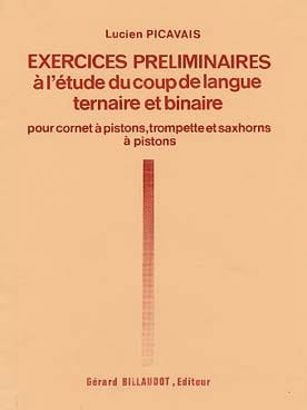 Lucien Picavais - Preliminary Exercises in the Study of the Language Stroke - Binary Ternary - Sheet Music - di-arezzo.com