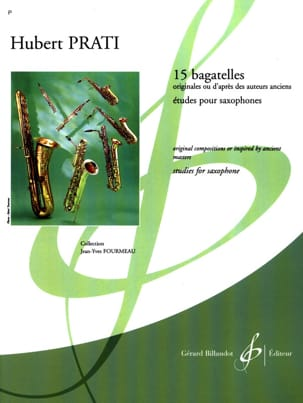 Hubert Prati - 15 Bagatelles - Sheet Music - di-arezzo.com