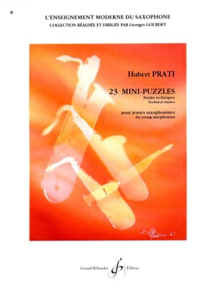 Hubert Prati - 23 Mini Puzzles - Sheet Music - di-arezzo.co.uk