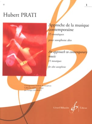 Hubert Prati - Approach to Contemporary Music - 15 Mosaics, Volume 1 - Sheet Music - di-arezzo.com