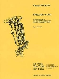 Pascal Proust - Prelude and game - Sheet Music - di-arezzo.com