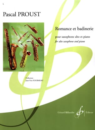 Pascal Proust - Romance and badinerie - Partition - di-arezzo.com