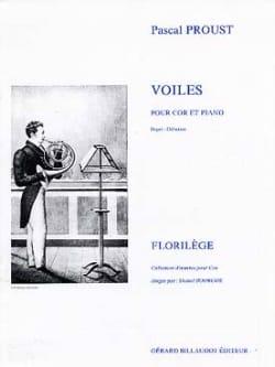 Voiles Pascal Proust Partition Cor - laflutedepan