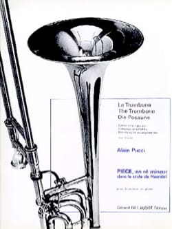 Alain Pucci - Piece in D minor - Sheet Music - di-arezzo.co.uk