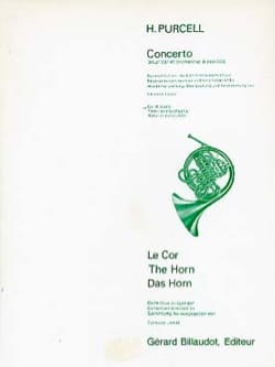 Concerto - Henry Purcell - Partition - Cor - laflutedepan.com