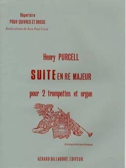 Suite En Ré Majeur PURCELL Partition Trompette - laflutedepan