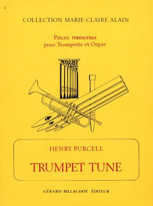 Henry Purcell - Trumpet Tune - Partition - di-arezzo.fr