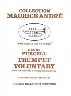 Trumpet Voluntary - Henry Purcell - Partition - laflutedepan.com