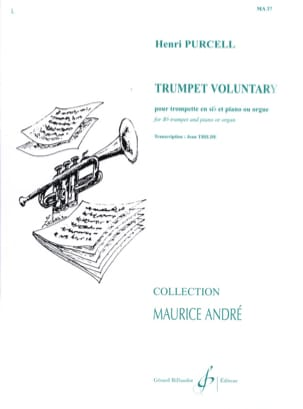 Trumpet Voluntary PURCELL Partition Trompette - laflutedepan