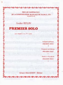 André Relin - First Solo - Sheet Music - di-arezzo.co.uk
